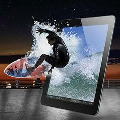 """""""O tablet PC Ainol Discovery suporta o Formato Blue-Ray,reprodução de video 4k,video 3D. Possui entrada de padrão HDMI 1.4 para espelhamento de imagens na sua TV ou em qualquer outro dispositivo suportado,convide a sua familia a para assistir um filme ou mesmo jogar no tablet e espelhar na sua TV da Sala""""."""