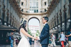 Classic and Fashionable Wedding in Milan | Image by DS Visuals Weddings