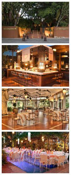 Rodeado de un jardín espectacular y junto a su decoración Art-Decó, hacen del Restaurante La Meridiana del Alabardero un lugar diferente donde disfrutar de una maravillosa velada.