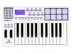 Controlador MIDI/USB 25 Teclas - Waldman Carbon 25 com as melhores condições você encontra no Magazine Edmilson07. Confira!