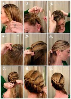 Pretty braid tutorial