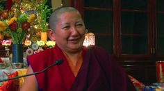 Love her laughter! The joyous Khandro Rinpoche The Yogini Project