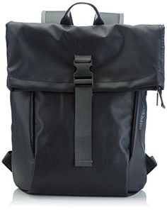 BREE Punch 92, small 83900092 Damen Rucksackhandtaschen 36x42x12 cm (B x H x T), Schwarz (black 900) - http://herrentaschenkaufen.de/bree/schwarz-black-900-bree-punch-92-backpack-small-uni