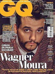 Wagner Moura en portada de GQ Brasil Septiembre 2016