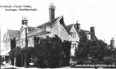 Wulfhall from a postcard issued  1907;manor built on the site of Queen Jane Seymours home.Little of the original manor remains.Local folklore has it that the wedding took place in the barn although reliable sources place the event in London.It is probable that the King hosted a celebratory wedding feast@the barn;records show he visited the old house often.The barn survived into this century it burned down in the 1920s,it still had the hooks on which had hung the decorations