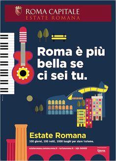 Ci avviciniamo al Ferragosto e anche E se domani... si concede una pausa dal 6 al 15 :-) ma prima di salutarci per le vacanze facciamo una carrellata sugli eventi da non perdere dell'estate romana.