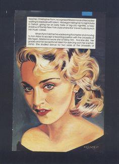 Madonna Comic Book