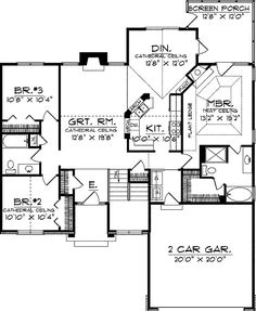 1495 Sq ft split bedrooms