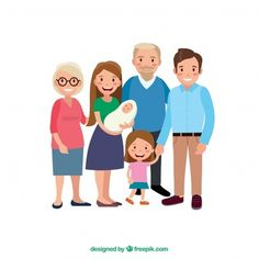 Big happy family with flat design Free Vector Family Posing, Family Portraits, Design Plano, Family Vector, Indian Family, Vector Free Download, Need To Lose Weight, Sport Chic, Happy Family