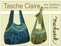 eBook: Claire -Tasche, Anleitung & Schnitt