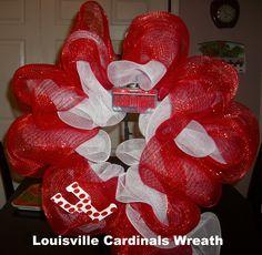 U of L Wreath