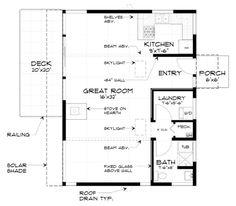 Plano de casa elevada