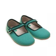 Chaussons Bonton turquoise bonita - Chaussons Filles - BONTON