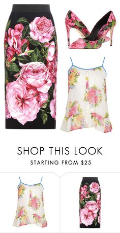 """""""Untitled #3337"""" by ania18018970 ❤ liked on Polyvore featuring Dolce&Gabbana"""