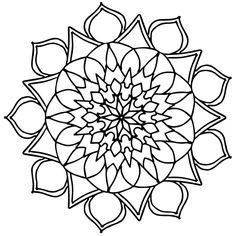 Free coloring pages for you to print Detailed Coloring Pages, Mandala Coloring Pages, Free Coloring Pages, Cat Coloring Page, Coloring Books, Trippy Drawings, Toddler Coloring Book, Book Flowers, Punch Needle Patterns