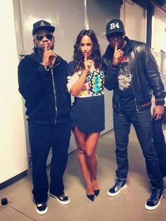 Rita Pereira and B4 compadres music siger