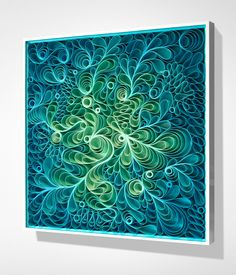 "beautiful art by stallman studio - a whole new kind of ""Quilling"" inspiration!!"