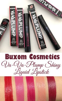 Lookout! A new liquid lipstick is out from @buxomcosmetics. Va-Va-Plump Shiny Liquid Lipstick is not a typical one. See my review and swatches to find out why. #beauty