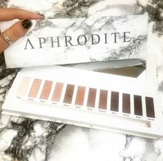 Aphrodite Eyeshadow palette by contourcosmetics