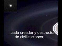 Ese pequeño punto azul palido - Carl Sagan (Subtitulado y Completo) - The pale blue dot - YouTube