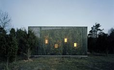 Maisons camouflage paysage