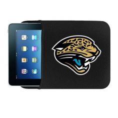 NFL Jacksonville Jaguars Netbook/Apple iPad Sleeve, Multicolor