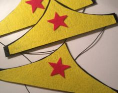 MADE TO ORDER Wonderwoman headband
