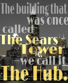 I admit, I was in Chicago the other day and I was trying to locate every divergent building and landmark.