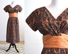1950s Cocktail Dress Wiggle Dress Jack Stern Originals