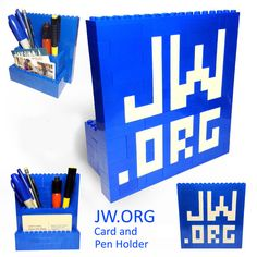 JW.ORG Card and Pencil Holder van SketchBuch op Etsy