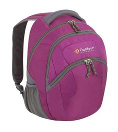 Outdoor Products React Daypack Wild Aster -- Check this awesome product by going to the link at the image. Hiking Tips, Camping And Hiking, Camping Gear, Best Hiking Backpacks, Day Backpacks, Backpacking Hammock, Day Hike, Casual Bags, North Face Backpack