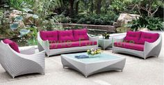 Find More Garden Sets Information about New design garden outdoor sofa furniture Outdoor sofa furniture,High Quality furniture pink,China sofa toy Suppliers, Cheap furniture wholesaler from Hongyue Cane Skill Furniture on Aliexpress.com