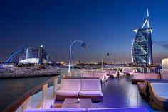 360 Degrees Upper Deck at Jumeirah Beach Hotel in Dubai