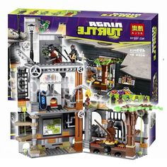 29.49$  Watch here - https://alitems.com/g/1e8d114494b01f4c715516525dc3e8/?i=5&ulp=https%3A%2F%2Fwww.aliexpress.com%2Fitem%2F499pcs-Bela-new-10210-TMNT-Ninja-Turtle-Lair-Attack-Minifigures-Building-Blocks-Raphael-Leonardo-Compatible-With%2F32511759701.html - 499pcs Bela new 10210 Teenage Mutant Ninja Turtles Lair Attack Minifigures Building Blocks Movie Compatible With Lego Toys Gifts 29.49$