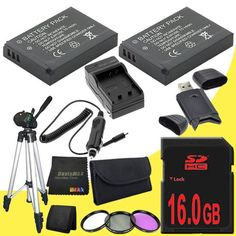 Introducing TWO ENEL9 Lithium Ion Replacement Battery  External Rapid Charger  16GB SDHC Class 10 Memory Card  52mm 3 Piece Filter Kit  Full Size Tripod  USB SDHC Card Reader  Memory Card Wallet  DavisMAX MicroFiber Cloth for Nikon D3000 D5000 D40 D40x D60 D3x Digital SLR Cameras with use of the Nikon 1855mm f3556G AFS DX VR Nikkor Zoom Lens DavisMAX Bundle. Great Product and follow us to get more updates!