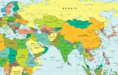East Asia's Geography Through the 5 Themes, 6 Essential Elements, and 18 Geographic Standards Teaching Geography, World Geography, World Map With Countries, Map Activities, Essential Elements, Economic Development, Ancient China, Orient, Our World
