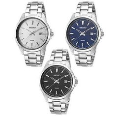 Seiko Men's 42mm Neo Classic Stainless Steel Watch: $54.99  $195.00  (103 Available) End Date: Jul 28,2016 07:59 AM GMT-07:00