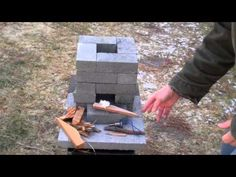 Survival kit: For about $10, you can build an improved brick rocket stove