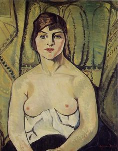 Portrait of a woman, 1917 / Suzanne Valadon