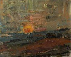 Joan Kathleen Harding Eardley (1921–1963) - Sunset