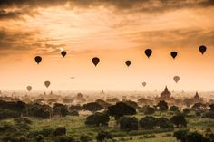 Misty morning in Bagan by Jus Medic | issyparis