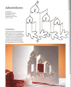 3D pop-up pattern - Christmas - Wioletta Matusiak - Picasa Web Album                                                                                                                                                                                 Mais