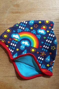 Mützen - Wendezipfelmütze Regenbogen - ein Designerstück von bluesie17 bei DaWanda