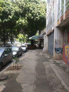 9#  Via de pedestres larga e arborizada Bar Escala: Local