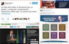 L'utilizzo del web e dei social network da parte di Renzi e del Pd nelle'elezione di Sergio Mattarella alla Presidenza della Repubblica.