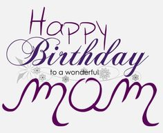 Happy Birthday Mom your the greatest and always have been, I just wasn't the son I should have been for a lot of years. But you are the most beautiful, opened minded Mom a son could ever have and have always showed unconditional love throughout my life. It's high time you enjoy that same love from a son that is just trying to better himself daily and to finally put other people in front. And your at the top of that list, today I love you unconditionally and love you this way One Day At Time…