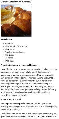 Buñuelos.