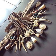 Twine  Twig Necklaces