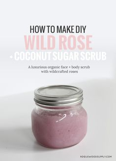 Roses are antioxidant rich, gentle enough for sensitive skin and super moisturizing. Check out this easy DIY   Rogue Wood Supply