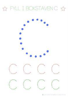 Lär dig skriva hela alfabetet med dessa färgglada bokstäver i färgerna röd, grön och blå – Lektionstips Kindergarten Writing Activities, Tracing Letters, Lily, Teaching, Toddlers, Education, Inspiration, Alphabet, Activities